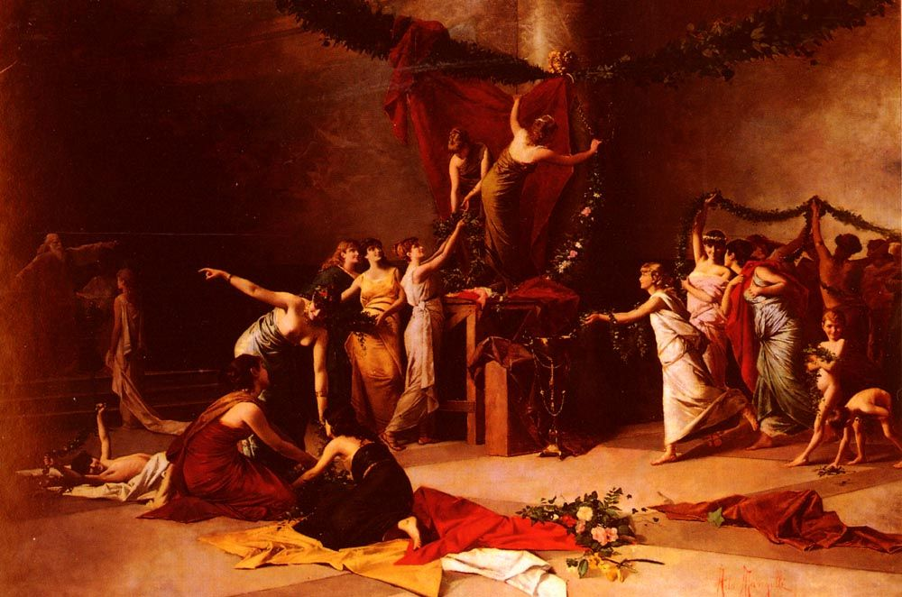 Ada Mangilli Ada Mangilli The Pagan Festival Pagan Festivals Pagan Classical Art