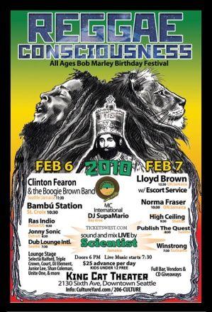 Bob Marley Celebration More Fantastic Tribute Events