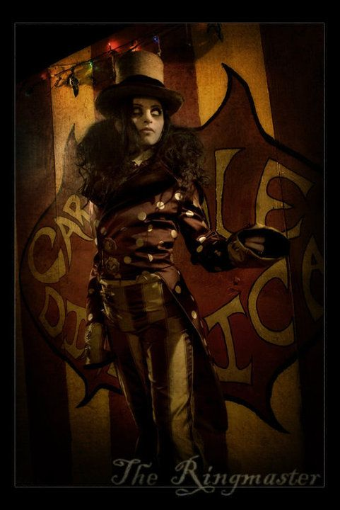 the ringmaster | Aesthetic - A certain brand of mystery ...