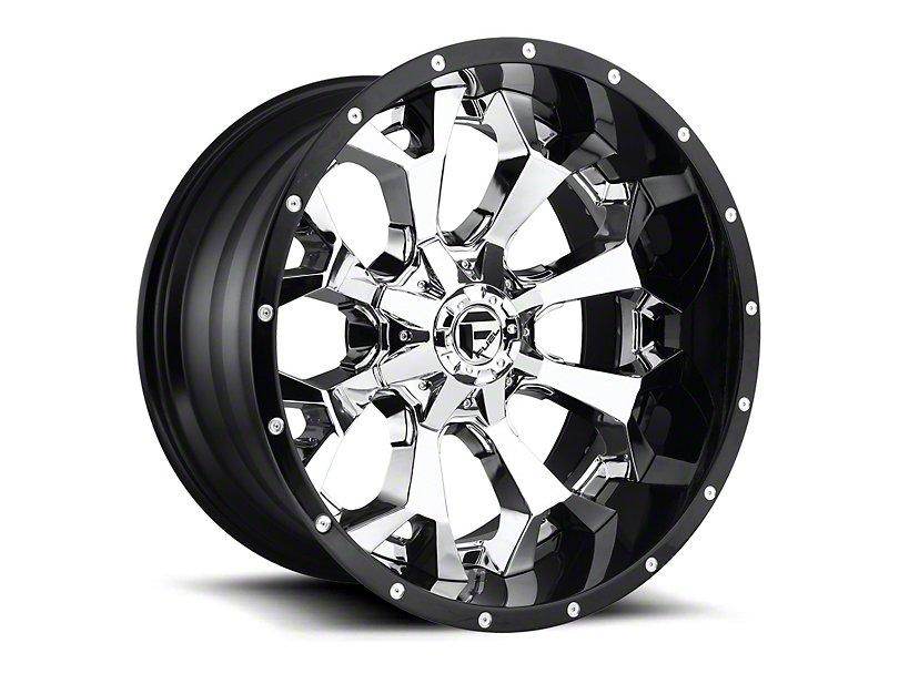 Fuel Wheels Assault Chrome 6 Lug Wheel