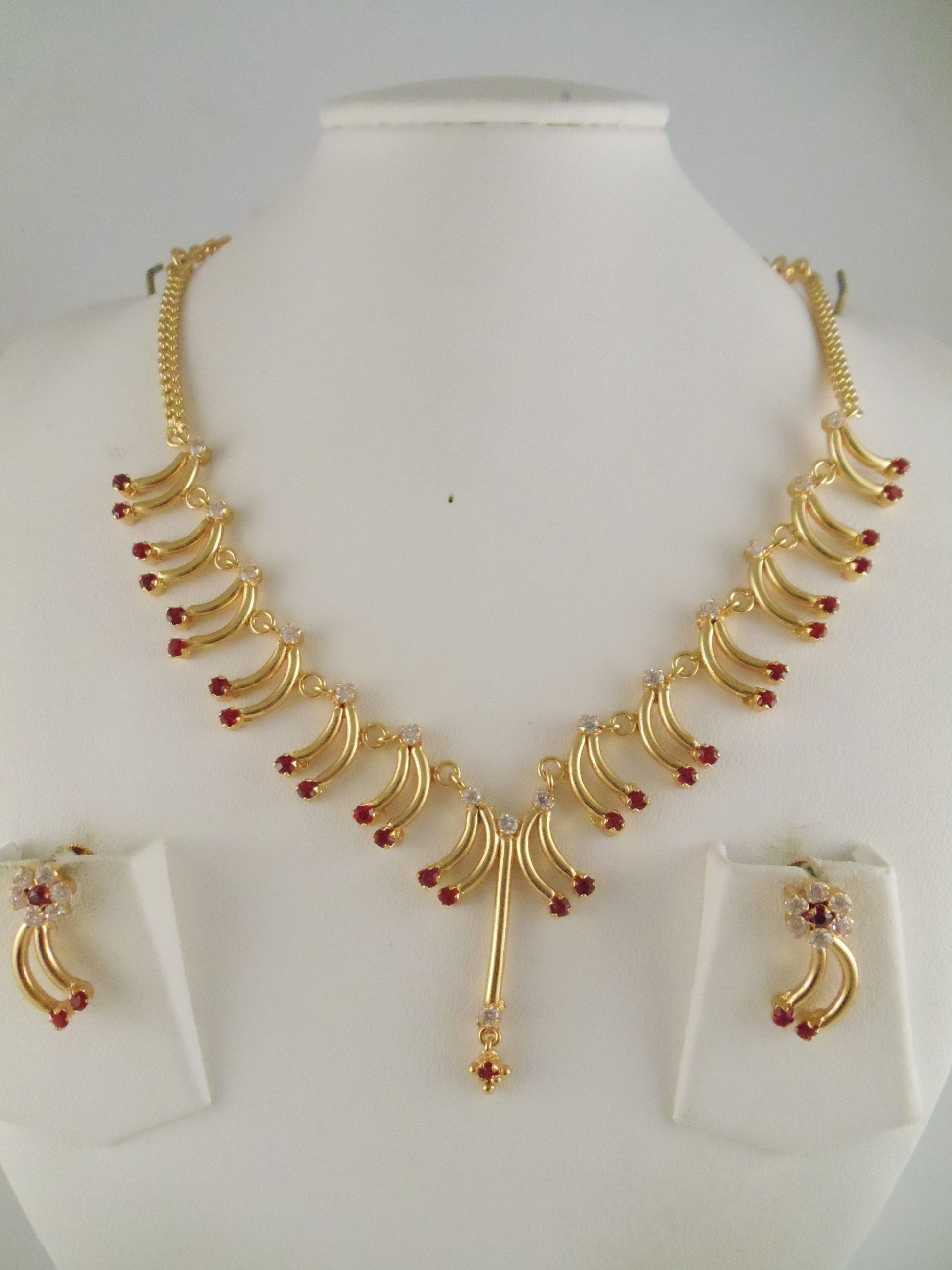Image result for gold long necklace designs in 20 grams   pearl ...