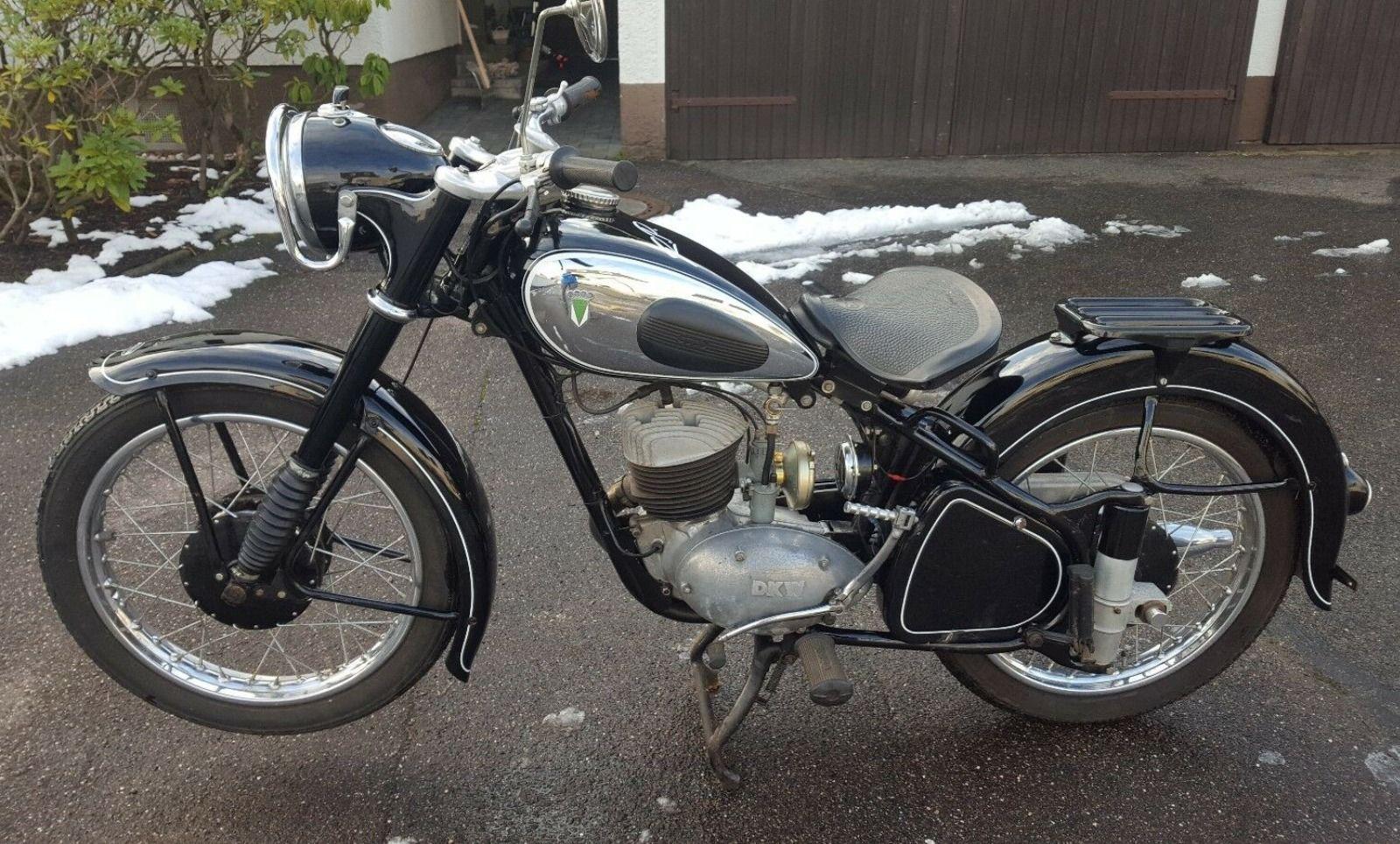 1953 Dkw Rt 250 H Dkw Motorrad Motorrad Mofa