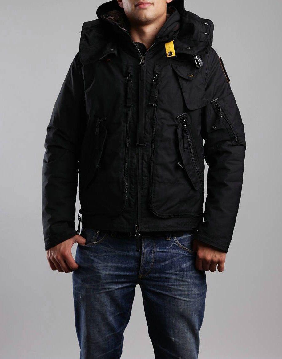 parajumpers gobi padded bomber jacket; parka parajumpers homme big bend noir parajumpers occasion