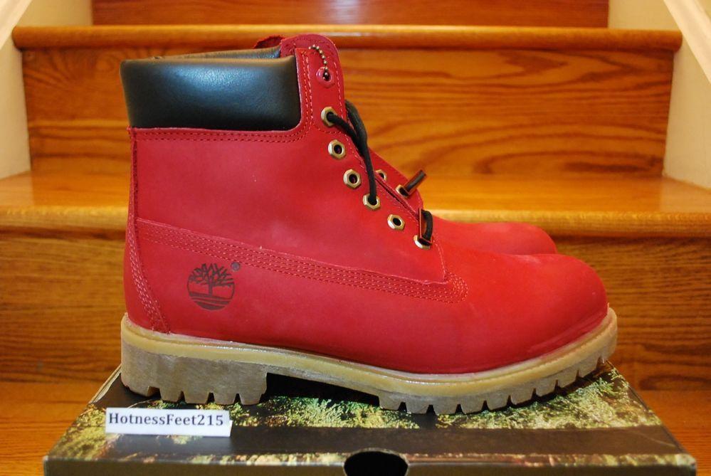 Timberland Boots Black Size 8