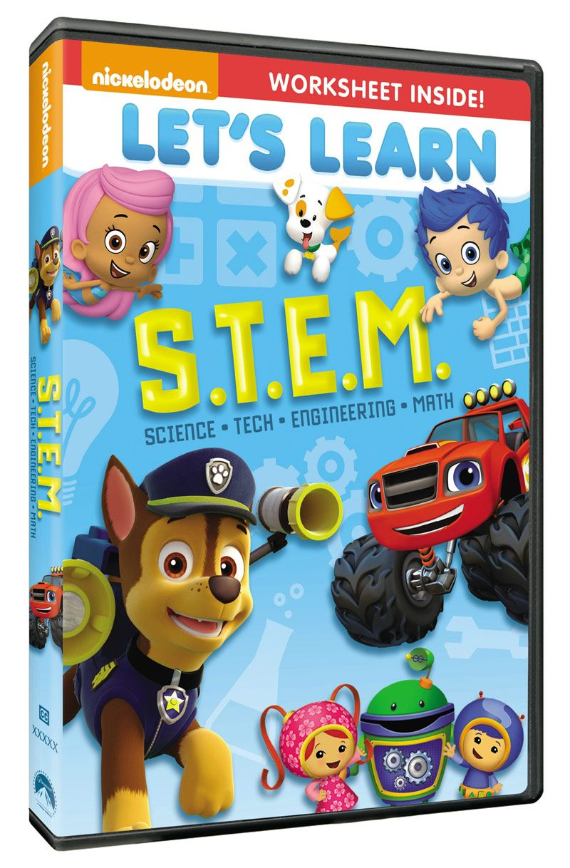 S T E M  DVD - featuring Bubble Guppies, Team Umizoomi, Paw