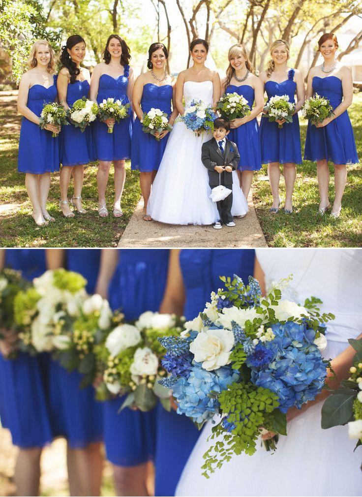 Cobalt Sapphire Blue Bridesmaids Royal Blue Bridesmaid Dresses Royal Blue Bridesmaids Royal Blue Wedding
