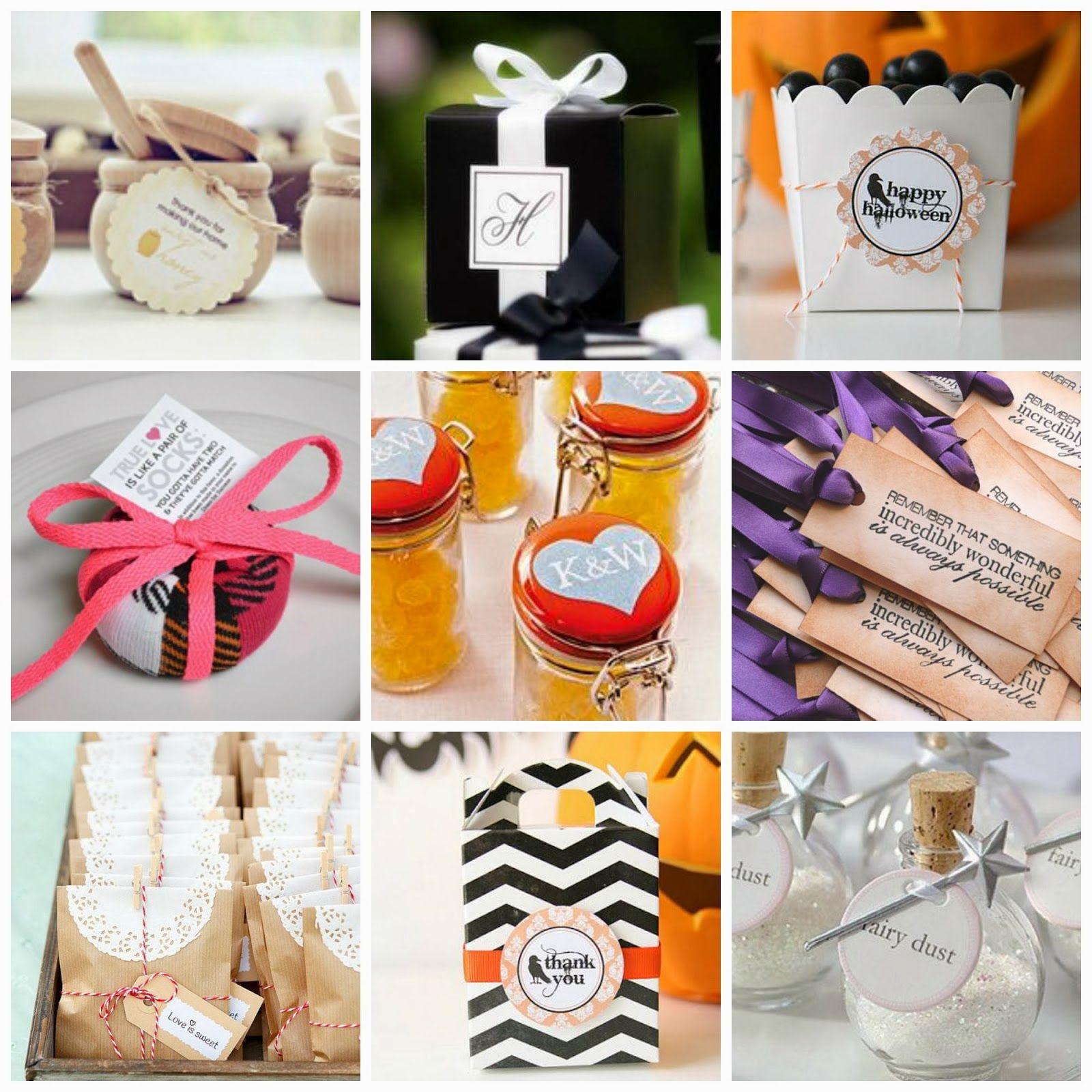 Wedding Door Gift: Ideas For Door Gifts