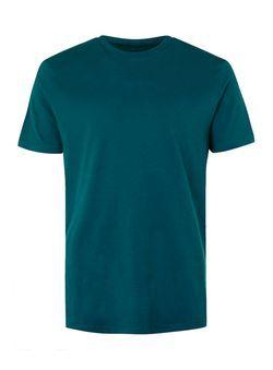 Teal Marl Crew Neck T-Shirt