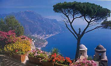 Naples, the Amalfi Coastline