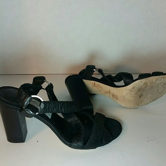 Shoes Elastic cross strap worn once 3 in heel Final . price diana broussard Shoes Sandals