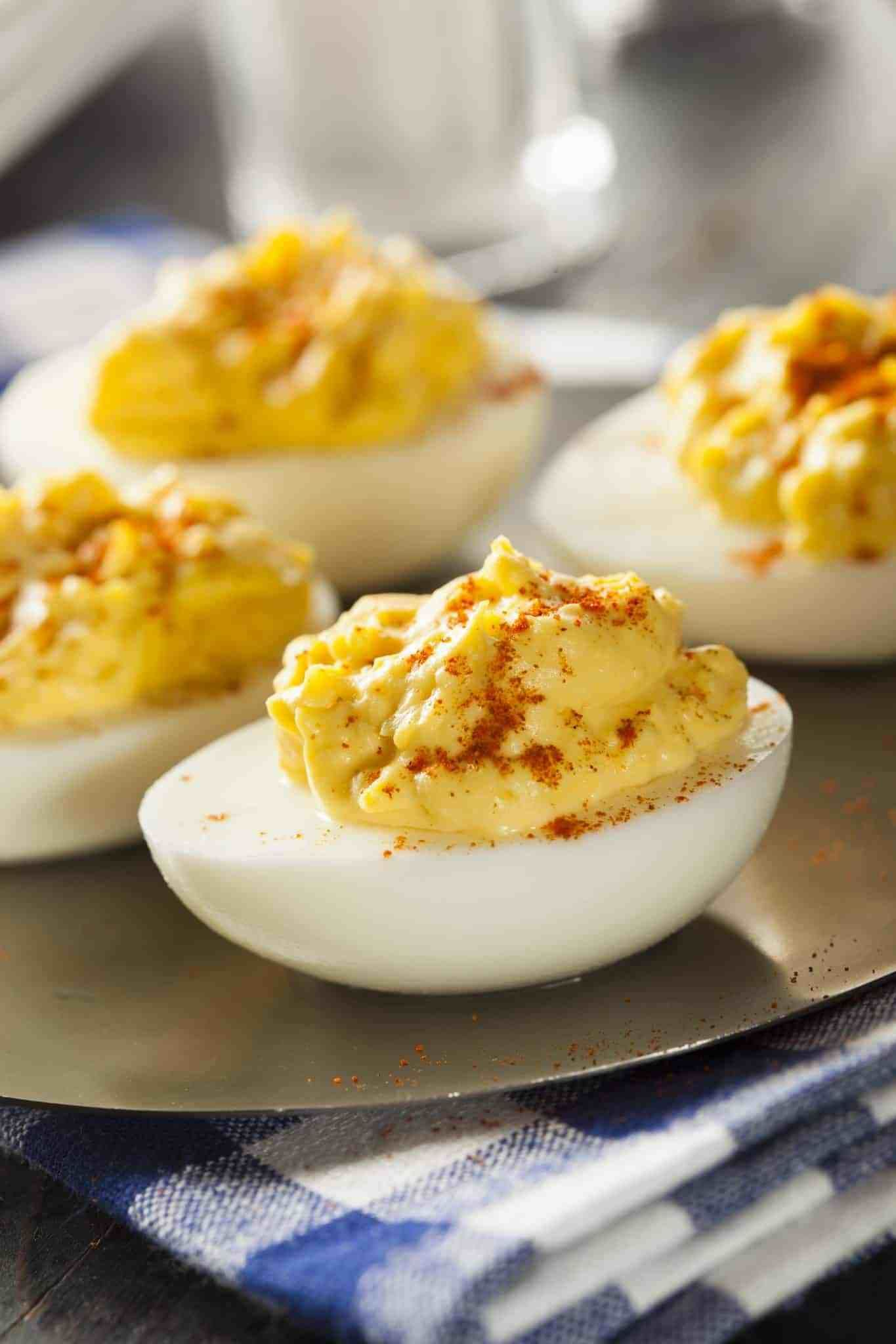 THE BEST EVER CLASSIC DEVILED EGGS (+Video) | The Country Cook