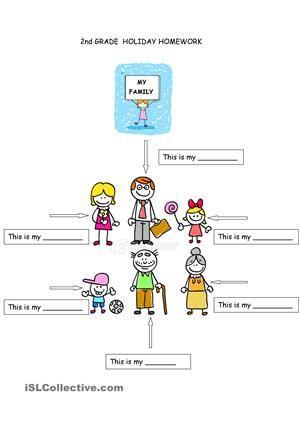 Family Members Family Worksheet Free Kindergarten Worksheets Worksheets Family worksheet for kindergarten pdf