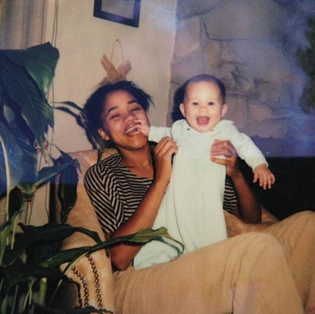 Meghan Markle With Her Mother, Doria Radlan