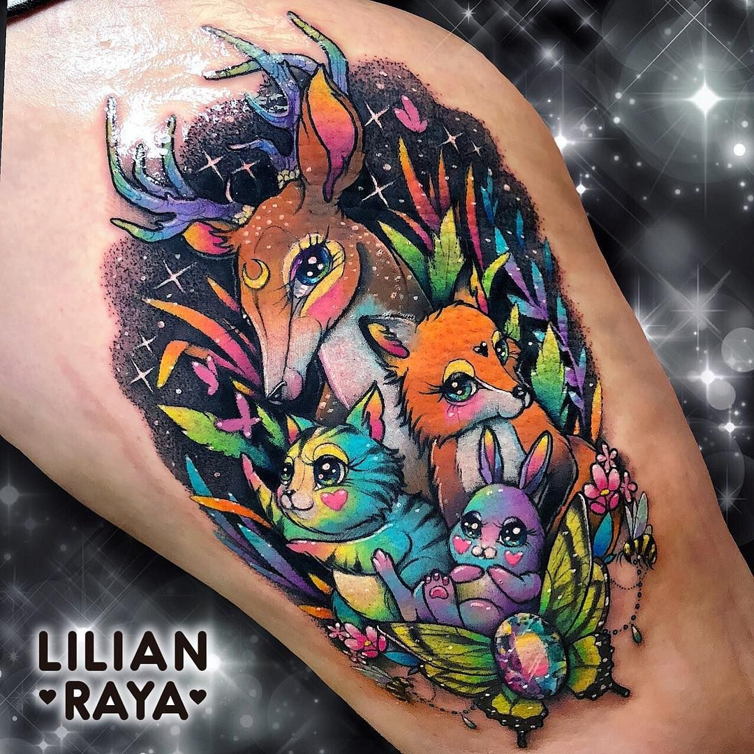 28 Nice Aqua Color Tattoos: Lilianraya I Absolutely Want A Tattoo With This Idea In Mind