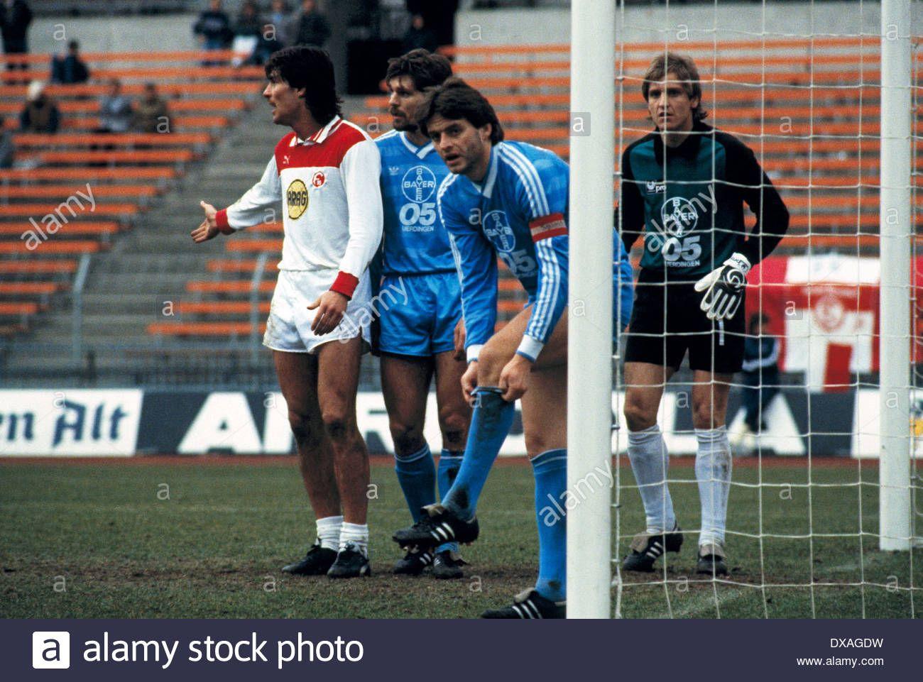 Download this stock image: football, Bundesliga, 1984/1985