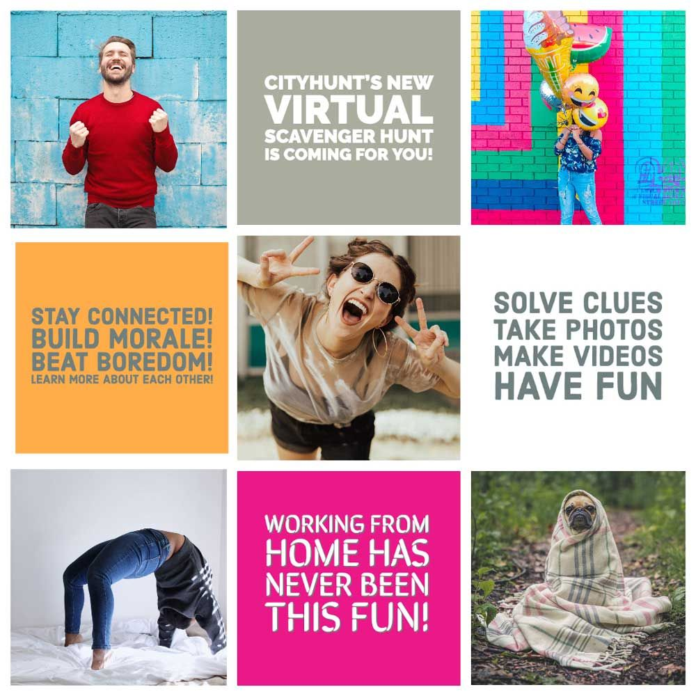 18 Easy Virtual Team Building Activities For Remote Teams Cityhunt Team Building Activities Fun Team Building Activities Team Building