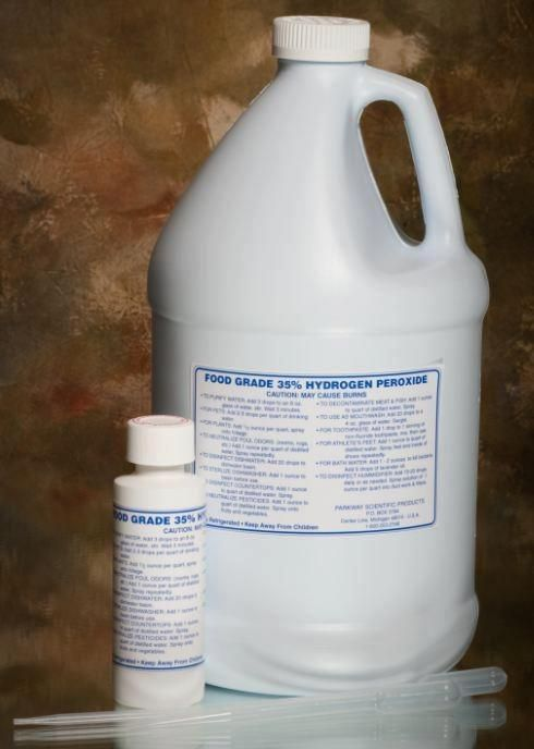 Food Grade Hydrogen Peroxide Is Great For Bleach Alternative Sanitizing Cleaning Produce Food Grade Hydrogen Peroxide Food Grade Peroxide Hydrogen Peroxide