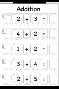 beginner addition   worksheets  school  pinterest  worksheets  beginner addition   worksheets