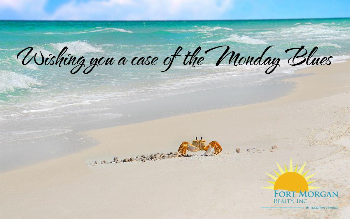Monday Blues Beach Style Beach Style Blue Beach Monday Blues