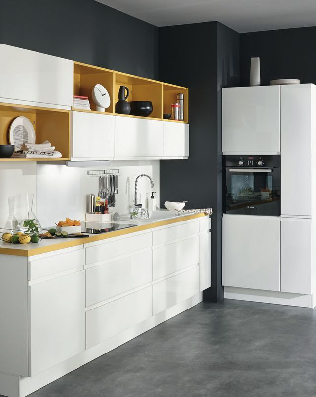 12 mod les de petite cuisine kitchen pinterest bol ro panneaux de particules et melamine. Black Bedroom Furniture Sets. Home Design Ideas