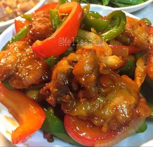 Resep Ayam Saos Oseng Paprika Oleh Melisa Winatamarjito Resep Resep Ayam Makan Malam Masakan