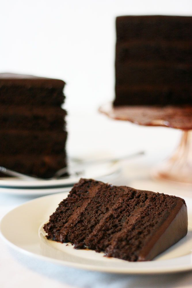 American Mud Cake With Sour Cream Chocolate Frosting Recipe Mud Cake Chocolate Flavors Mud Cake Recipes