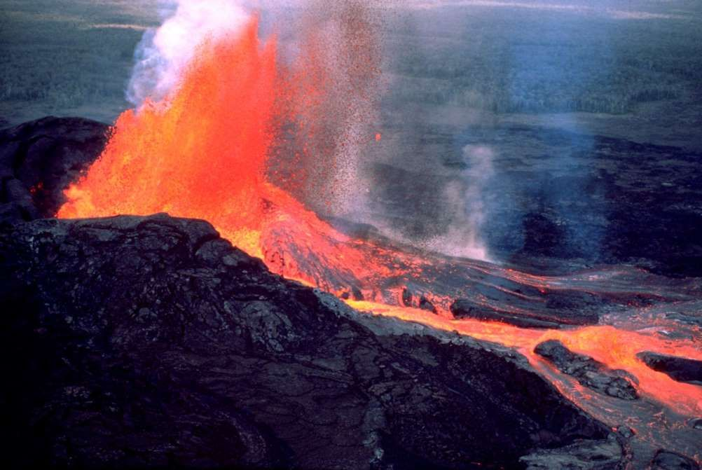 Eruption of the Kilauea #Volcano:The most active volcanoes ...