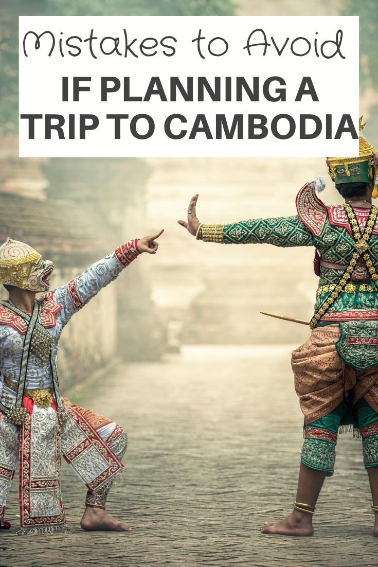 Mistakes to Avoid on your Trip to Cambodia. Planning a trip to Cambodia? This is everything I learned on my visits to Cambodia. Cambodia travel tips and inspiration for your next trip to Cambodia | Cambodia Travel Guide | Cambodia Travel Advice | #cambodia #travel  #siemreap #adventure #travelguide #travelitinerary #cambodian #culture #asia #travelblog