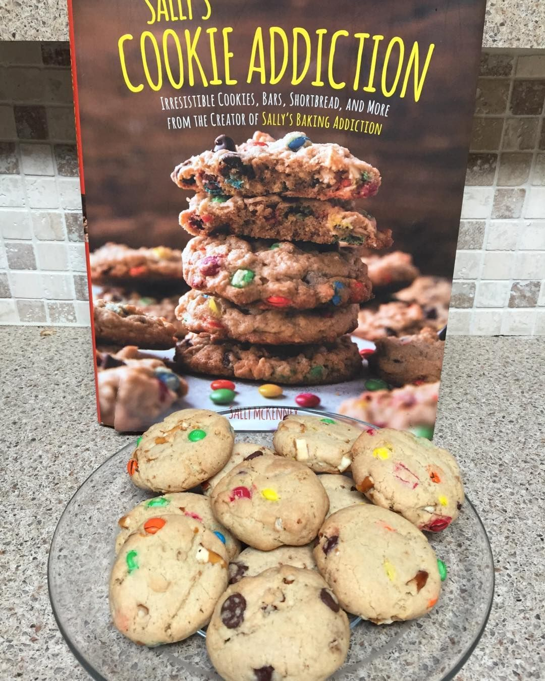 1 cookie  dough with many combinations to add in what you like Here I did the Ci - 1 cookie 🍪 dough with many combinations to add in what you like😀 Here I did the Cinnamon Chocolate Pecan and the Sweet and Salty M&M's Combo 😋 #sallysbakingaddiction #cookierecipes #pretzels #pecans #chipits #homebaked #foodblogger #cookbooks #homebakedcookies #sweetandsaltymx #influencermarketing #getinmytummy #irristible #bakesale #sallymckenney #digitalmarketing #experimentalmarketing #foodporn #bakingmakesm