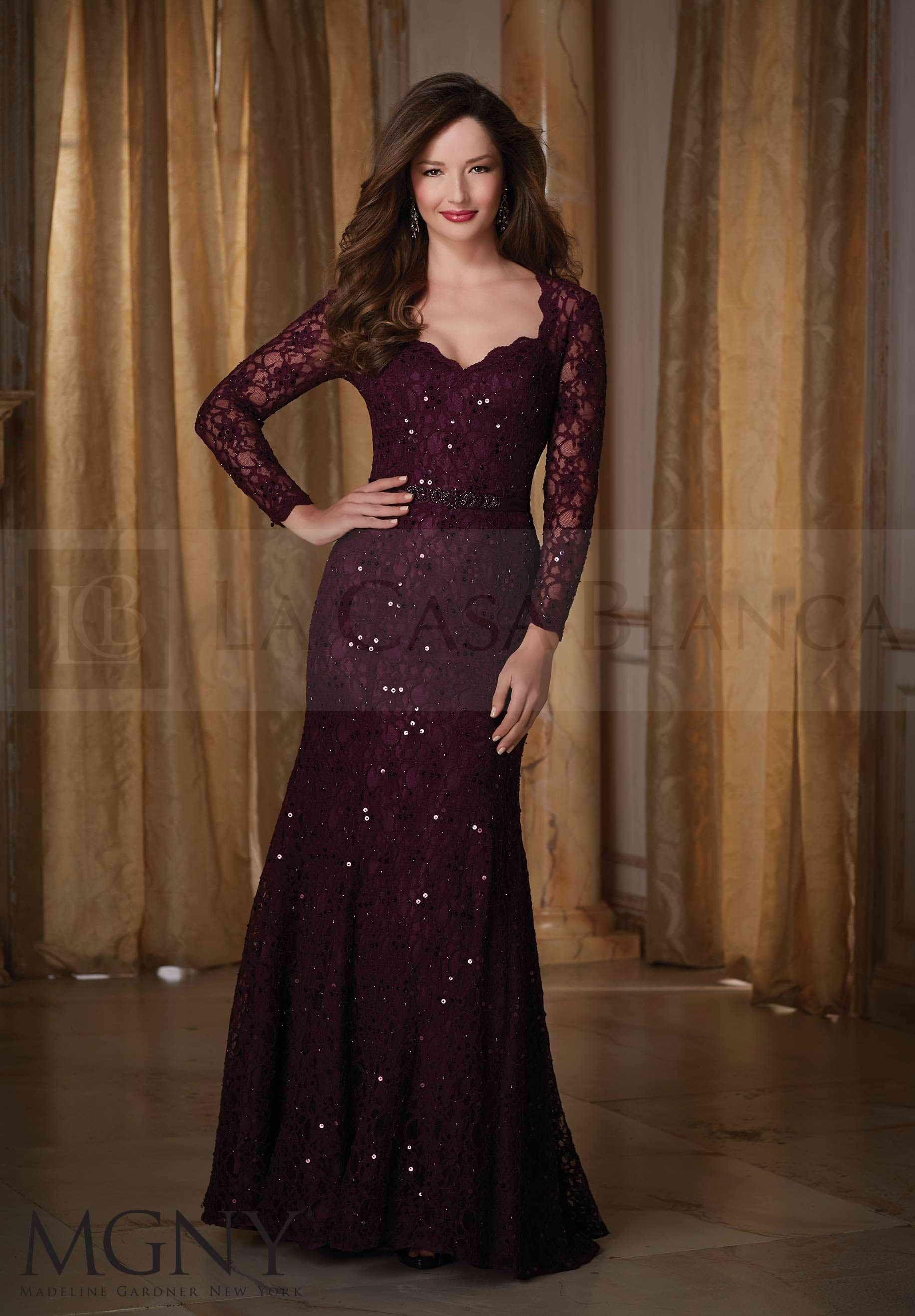 Un bello vestido de Madeline Garder para damas de honor y fiestas ...