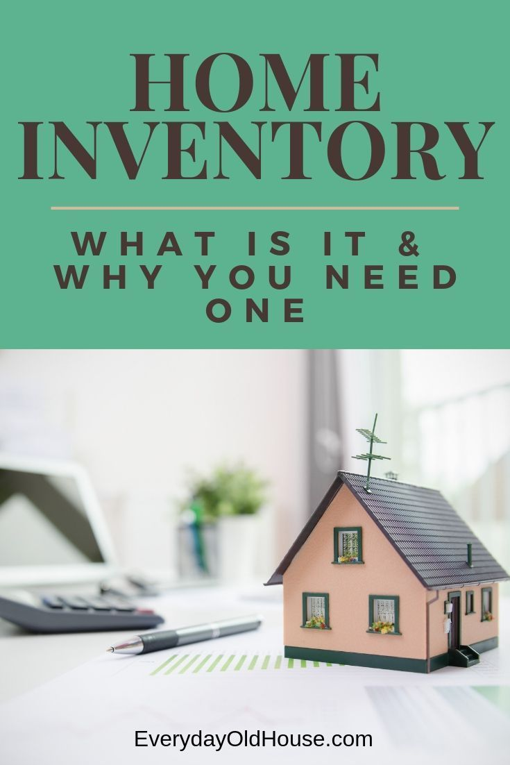 What is the Definition of a Home Inventory?   Home ...