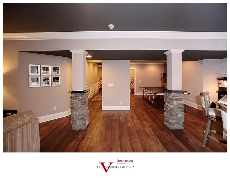 Man Cave Group : Vining group realty fort mill sc basement renovation man cave