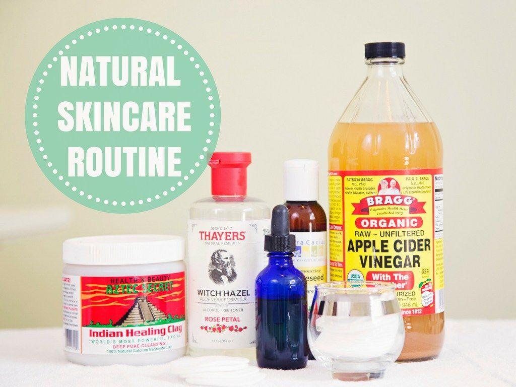 My Natural Skincare Routine Natural Skin Care Routine Natural