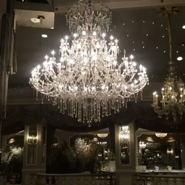 Our breathtaking mystic crystal chandelier at thepierreny in new our breathtaking mystic crystal chandelier at in new york city aloadofball Gallery