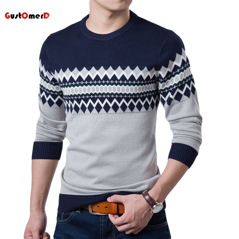 Autumn & Winter Plaid O-Neck Sweater 3 Colors for only $18.93 ...