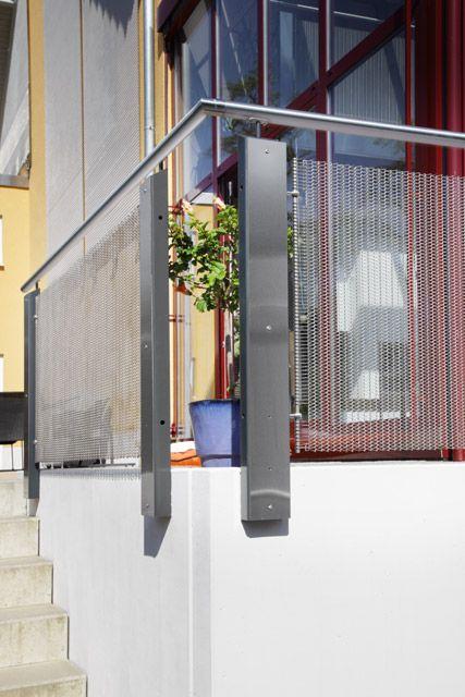 Wirehouse mallas arquitect nicas de acero inoxidable - Barandales para escaleras ...