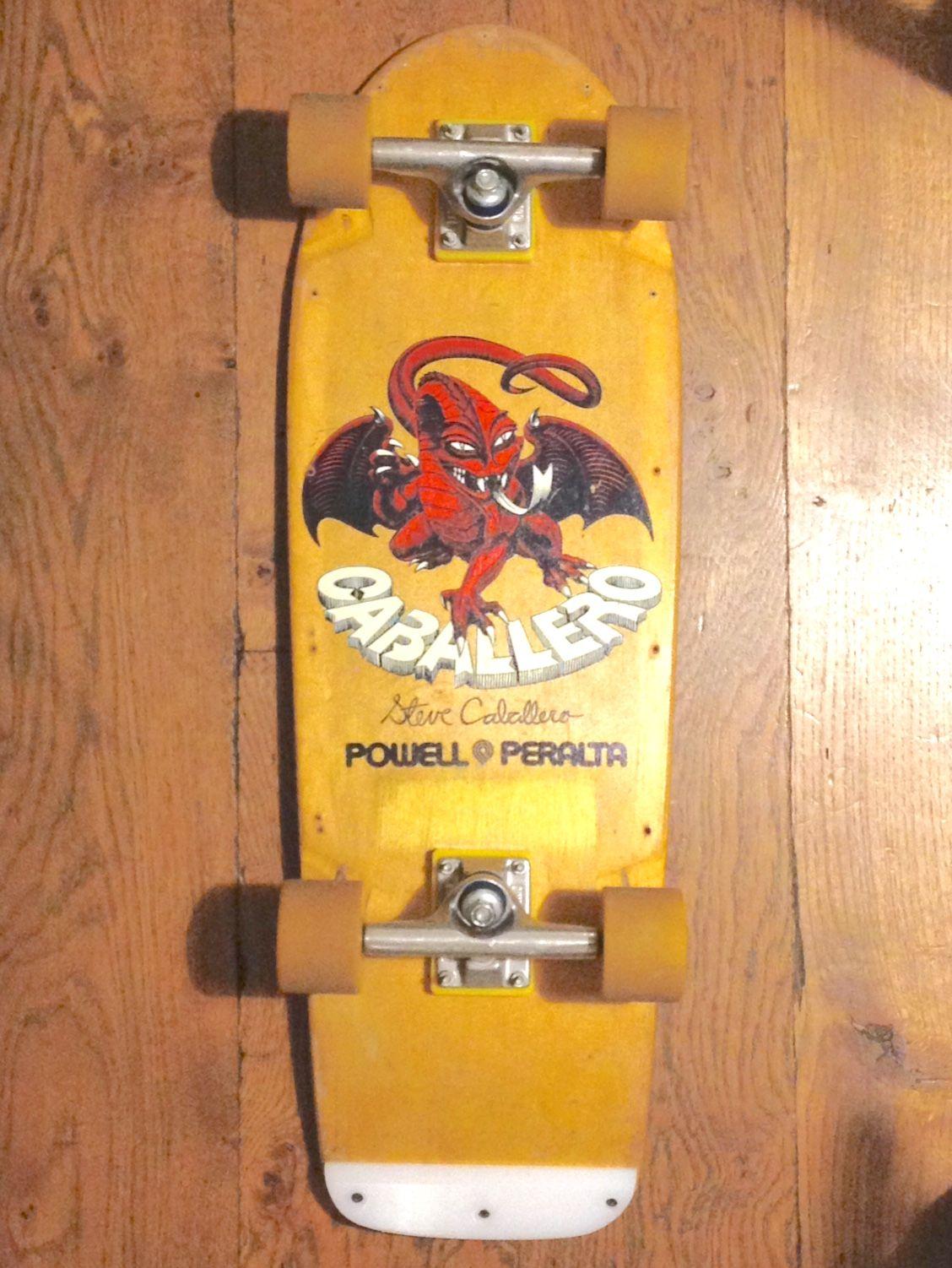 Powell Peralta Tailbone Oldschool Skateboard Zubehör Funsport