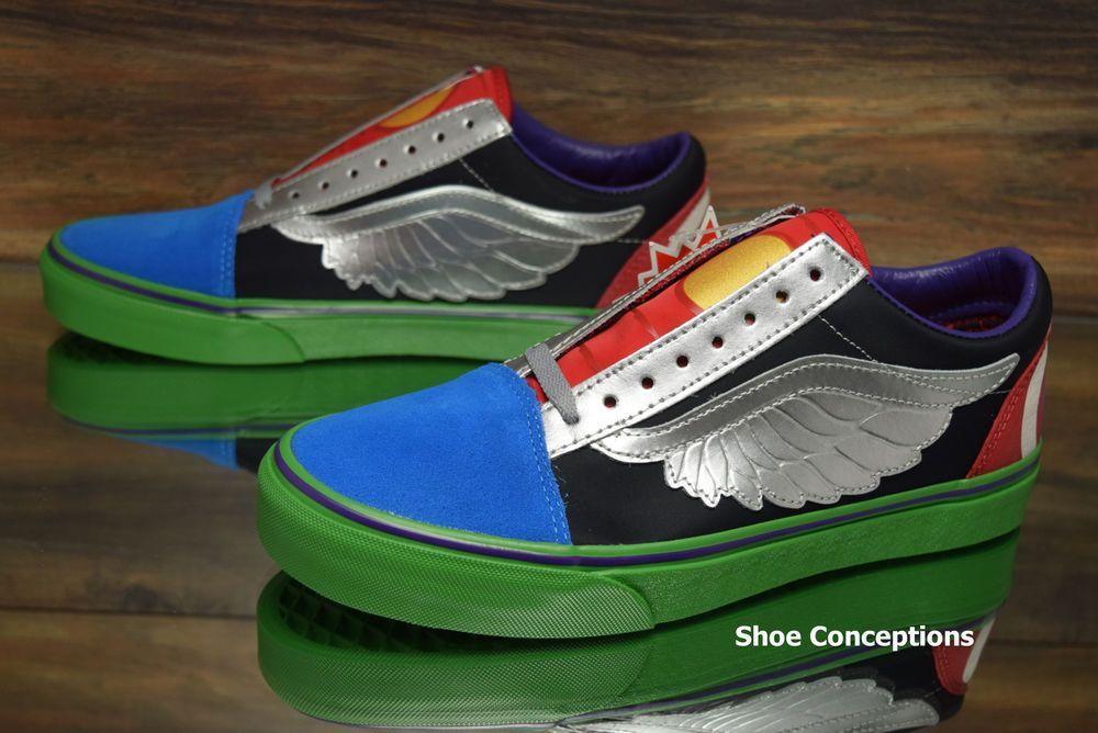 Vans Old Skool (Marvel) Avengers Men s Skate Shoes - Multi Size  VANS   da93579c7