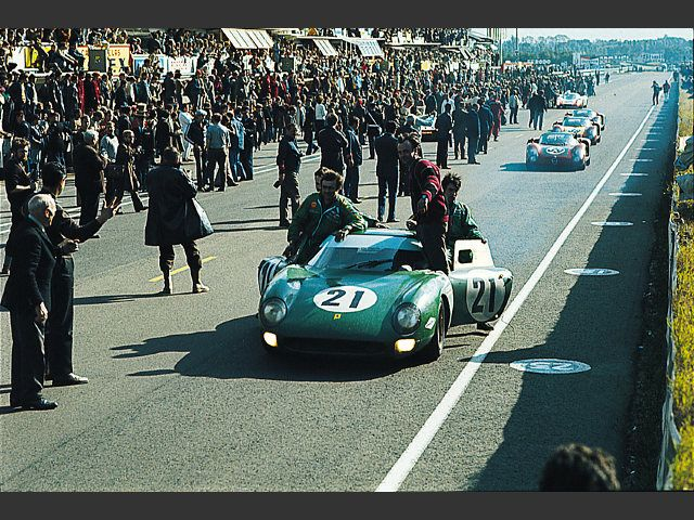 Lemans 1968 Ferrari 250LM David Piper