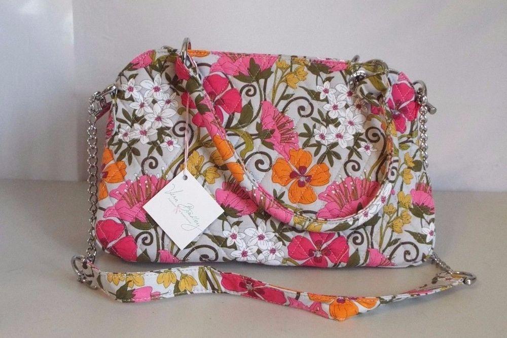 Vera Bradley Tea Garden Chain Bag Nwt Retired September