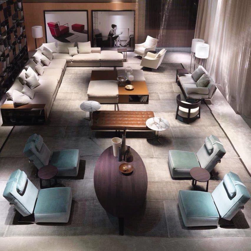 Ambiente Completo Com Mobiliario Da Flexform Italia Flexformspa Flexformitalia Ambient Lounge Furniture Arrangement Living Room Decor Inspiration Furniture
