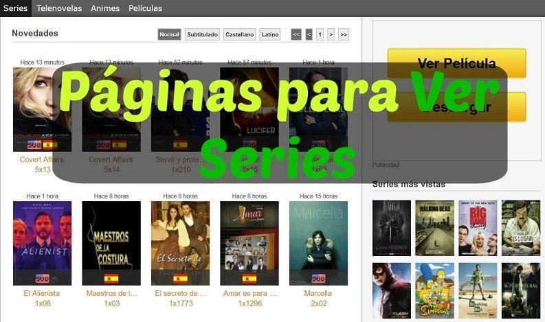 Ver Series Gratis Online Mejores Páginas 2021 Paginas De Series Donde Ver Series Paginas Para Ver Peliculas