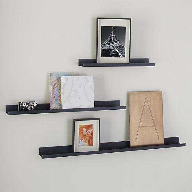 Shop Davis 36 Quot Zinc Wall Shelf Sleek And Contemporary Ledge