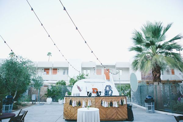 Modern Ace Hotel Wedding