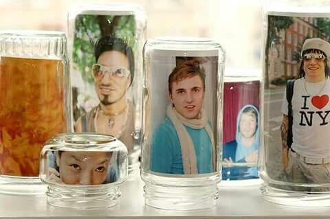 Foto no dentro de vidros