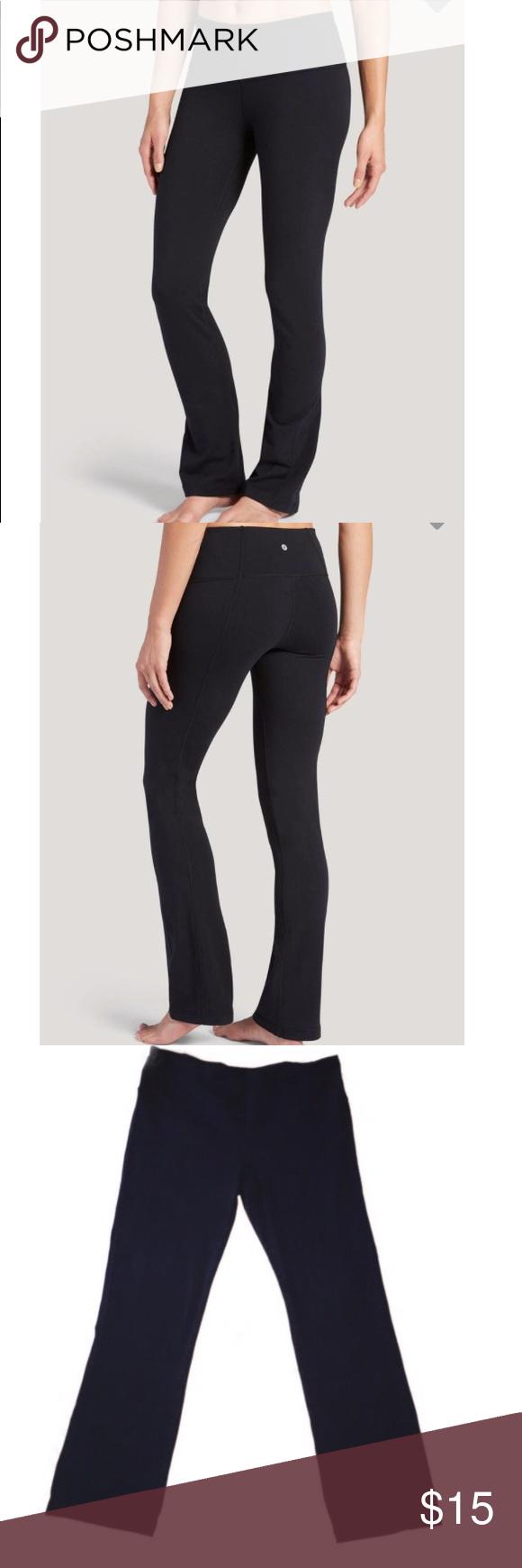 61846eb6b71c3 NWOT Jockey Stretch Slim Bootleg Pants NWOT The Jockey Cotton Stretch Slim  Bootleg women's activewear pants