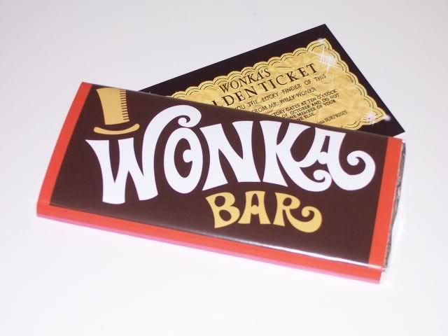 Image result for wonka bar golden ticket   Easter   Pinterest ...