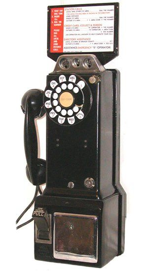 Western electric three slot payphone coral poker offers