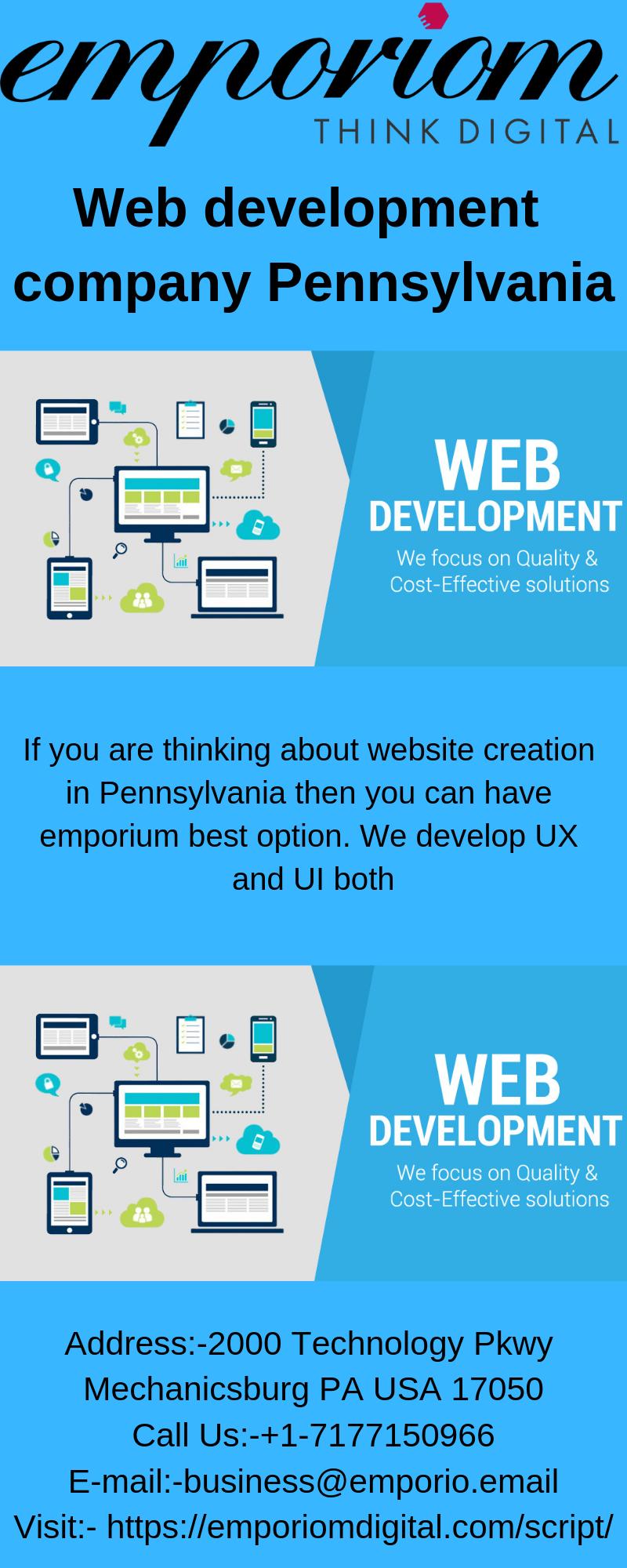 Web Development Company In Pennsylvania Web Development Company Web Development Interactive Advertising