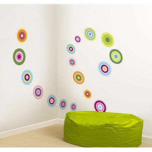 Fun4walls Candy Dot Wall Decal Wall Stickers Dots Candy Polka